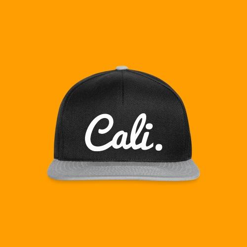 Cali s Logo Weiss - Snapback Cap
