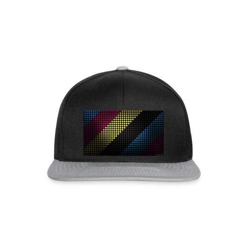 techno_dots_y_t_f-jpg - Snapback Cap