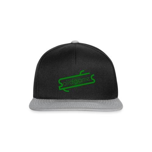 Solidgames Crewneck Grey - Snapback Cap