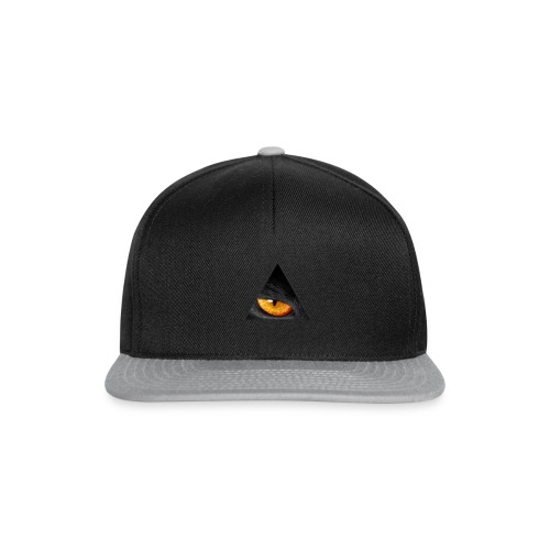 BLACK CAT EYE - Snapback cap