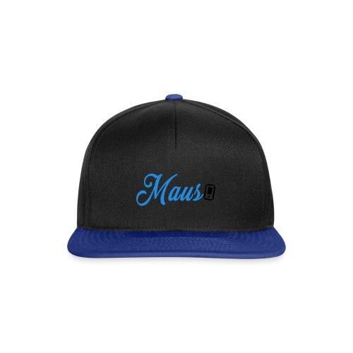 Hoesje MAUS 8Bit Blauw - Snapback cap