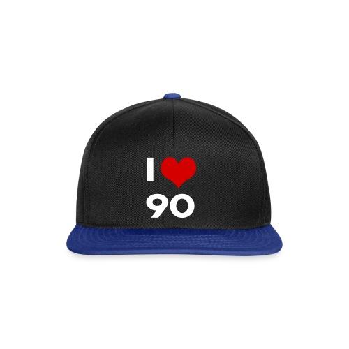 I love 90 - Snapback Cap