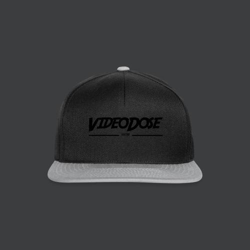 t-shirt_design_VideoDose - Snapback cap