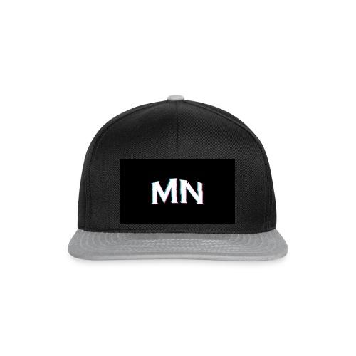 MN-Glitch Logo - Snapback Cap