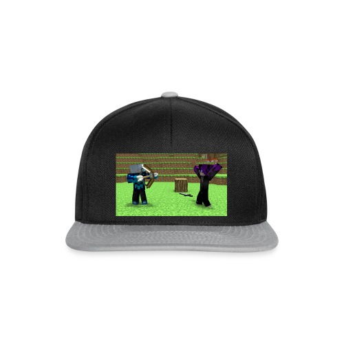 haha - Snapback Cap