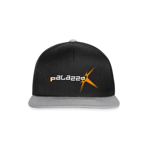 Palazzo Logo Klassik white - Snapback Cap