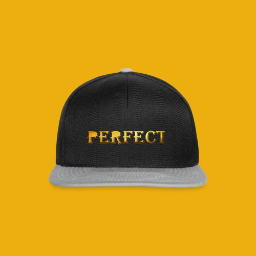 perfect metalic gold merch - Snapback Cap