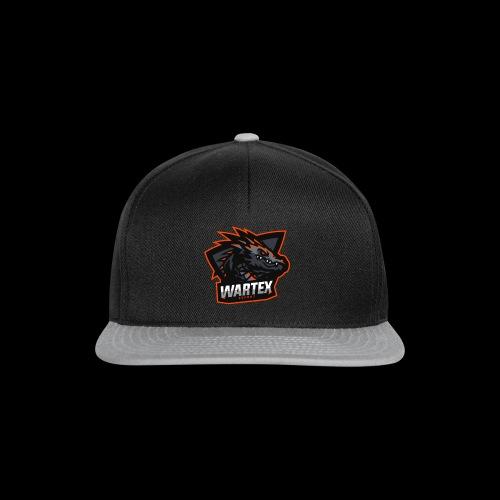 Wartex Logo orange - Snapback Cap