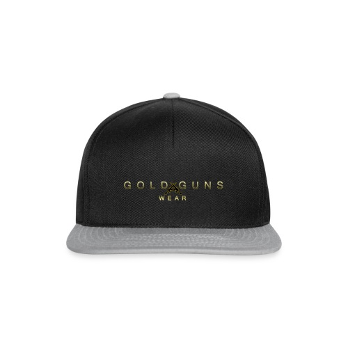 EDICIÓN GOLD GUNS WEAR - Gorra Snapback