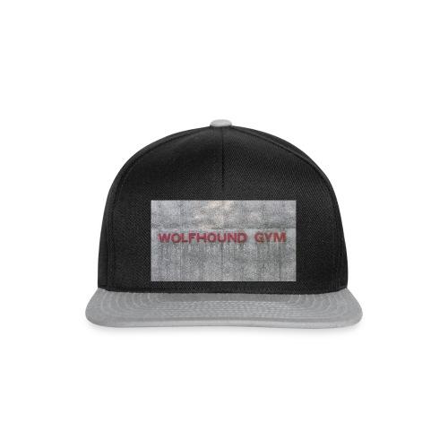 Wolfhound Gym - Snapback cap