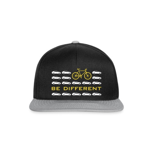 be different Auto Fahrrad Bike car anders einzig - Snapback Cap