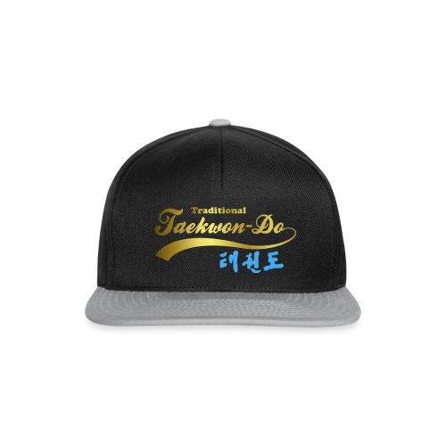 Aufdruck shirt blau gold ohne25 - Snapback Cap
