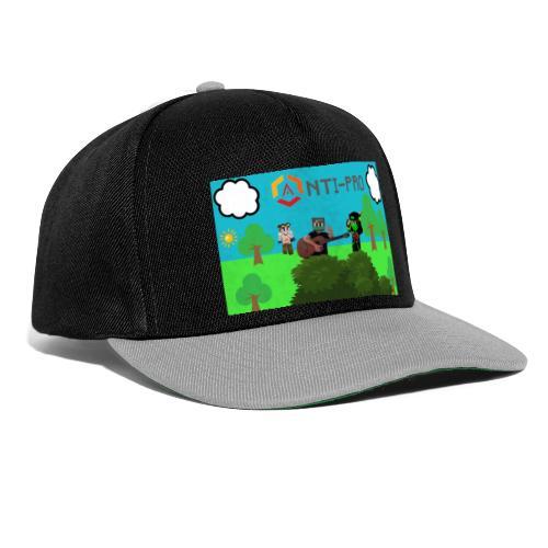 Maglietta Immagine Mario Anti-Pro - Snapback Cap