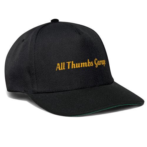 ATG text - Snapback Cap