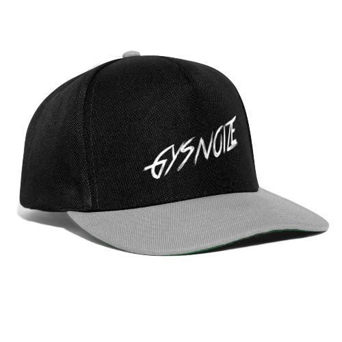GYSNOIZE - White Colour - Snapback Cap