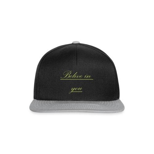 Belive in you - Snapback Cap