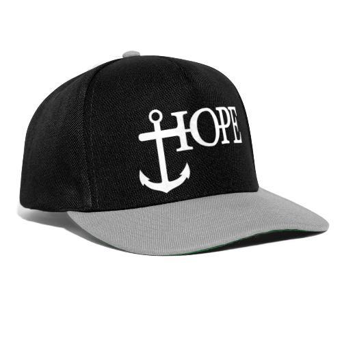 Hope Anker Anchor Hoffnung - Snapback Cap