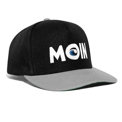 Moin mit Welle - Snapback Cap