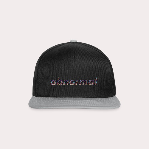 Abnormal Logo - Snapback Cap