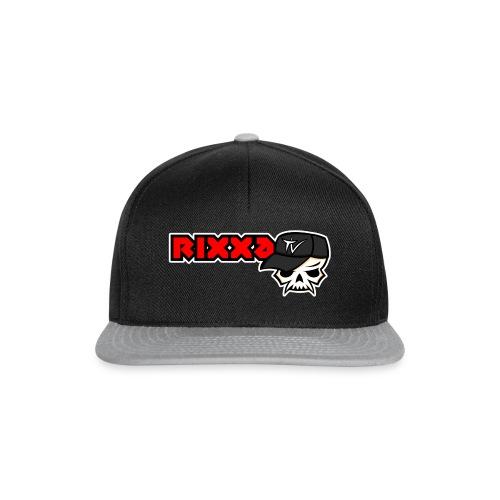 RixxaTV Logo NoBG - Snapback Cap