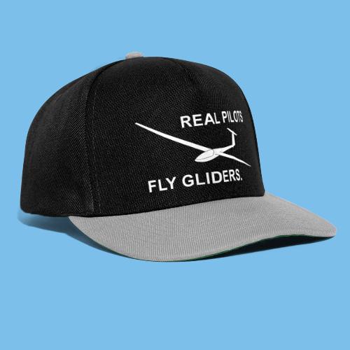 Segelflieger Segelflugzeug gleiten Geschenkidee - Snapback Cap