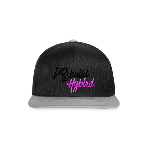 Lets Build A hybrid - Snapback Cap