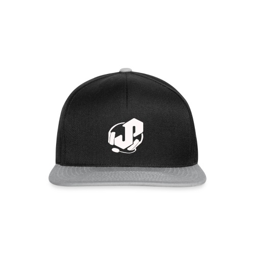 logo white for apparel png - Snapback Cap