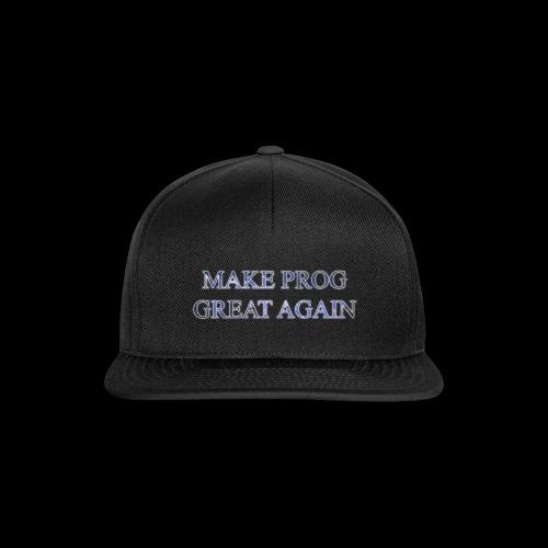 MAKE_PROG - Snapback Cap