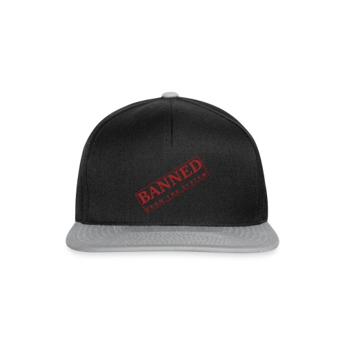 Banned From The System - Gorra Snapback