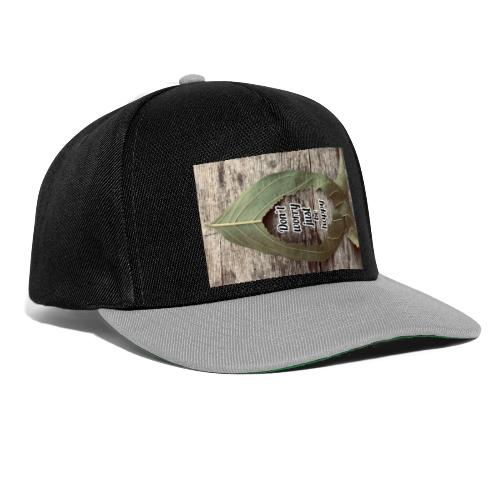 Don't worry just be Happy - Snapback Cap