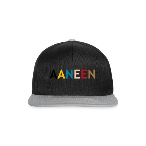 AANEEN_Alleen_Letters - Snapback cap