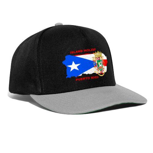 Puerto Rico Island Holiday - Snapback Cap