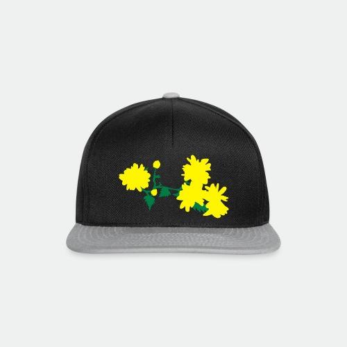 Asian flowers - Snapback Cap