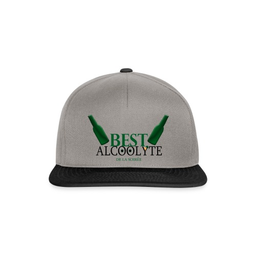 Alcoolyte ! - Casquette snapback
