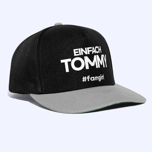 Einfach Tommy / #fangirl / White Font - Snapback Cap