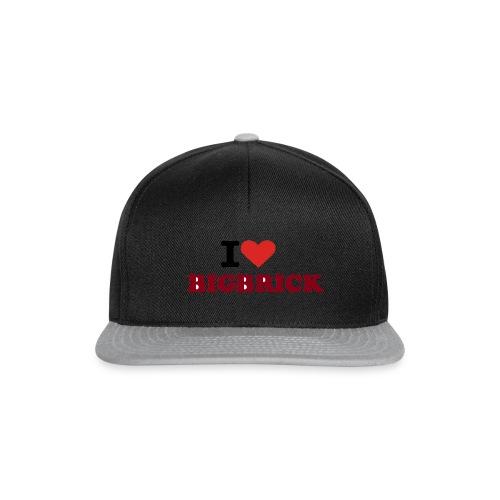 I love BIGBRICK - Snapback Cap