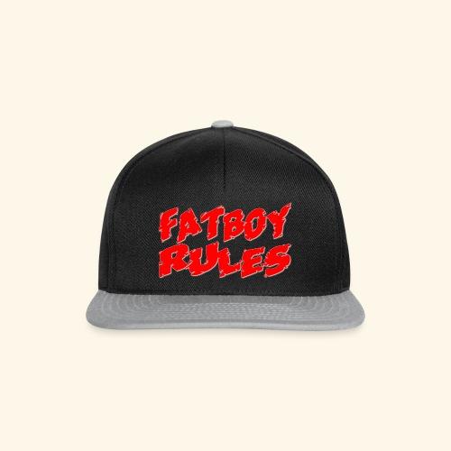 Fatboy Rules - Snapback Cap