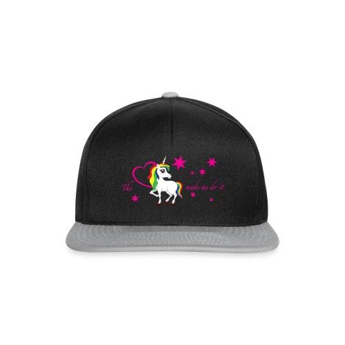 The-unicorn-made-me-do-it_stars - Snapback Cap