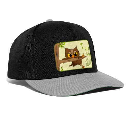 Eule - und hepp! - Snapback Cap