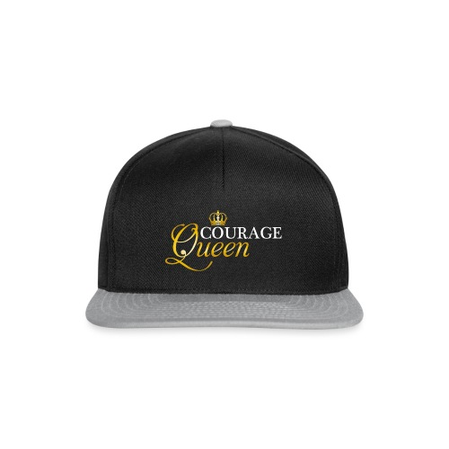 courage queen - Snapback Cap