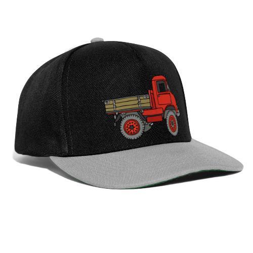 Roter Lastwagen, LKW, Laster - Snapback Cap