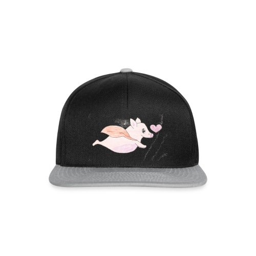 Kids for Kids: Flying Pigs - Snapback Cap