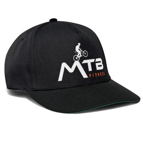 Subtle MTB Fitness - White Logo - Snapback Cap