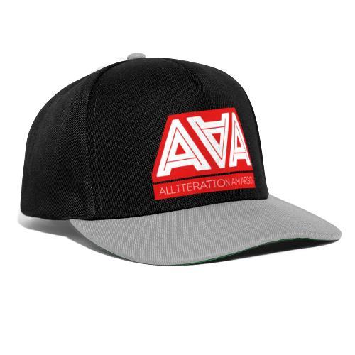 Alliteration Am Arsch - Snapback Cap