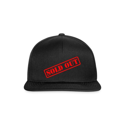 SOLD OUT - Snapback cap