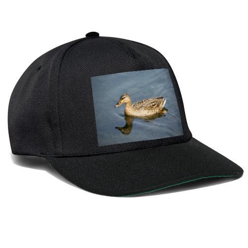 Ente im Wasser - Snapback Cap