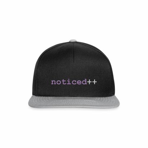 noticed++ - Snapback Cap