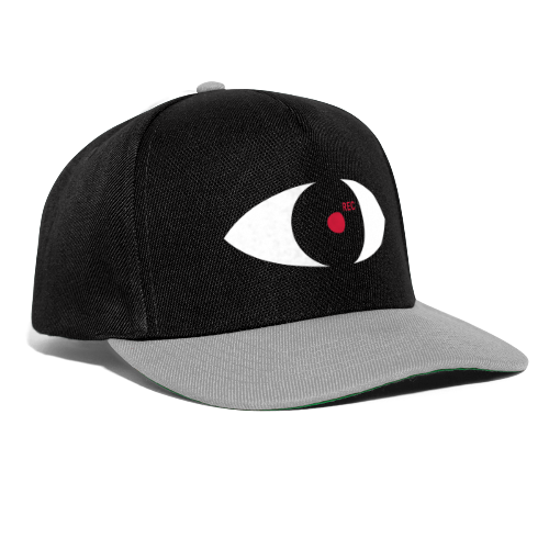 We see you! Black Edition - Snapback Cap