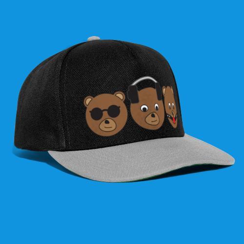 3 Wise Bears - Snapback Cap