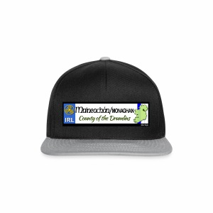 MONAGHAN, IRELAND: licence plate tag style decal - Snapback Cap